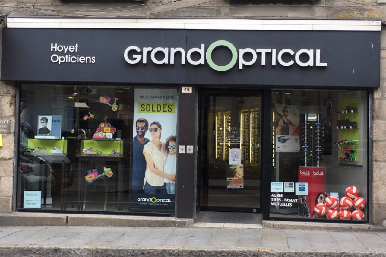 Grand optical  - commerces Dinan